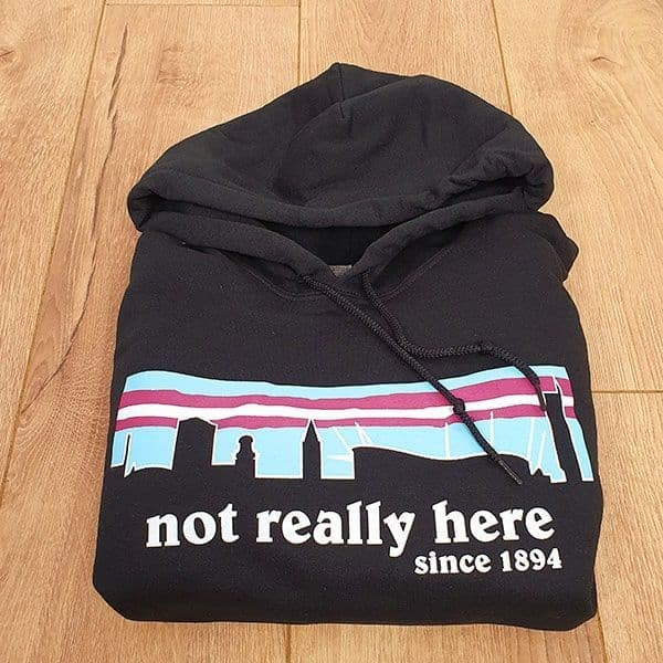 Not Really Here City Hoodie | Manchester City Gifts & Memorabilia
